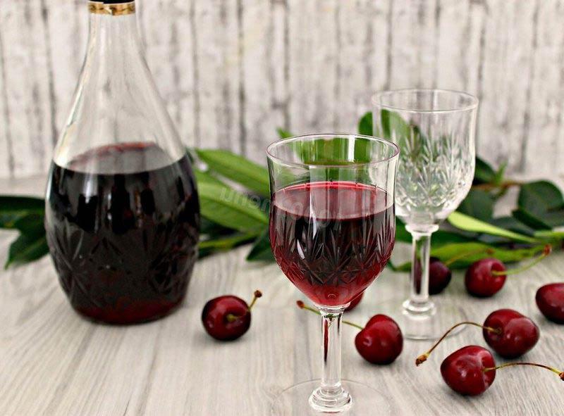 Классическое вишневое вино