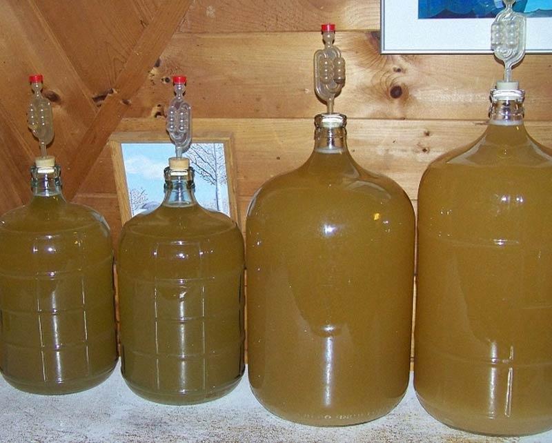 приготовление грушевого вина