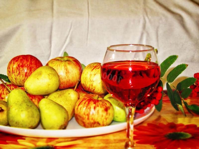 вино из груш и яблок