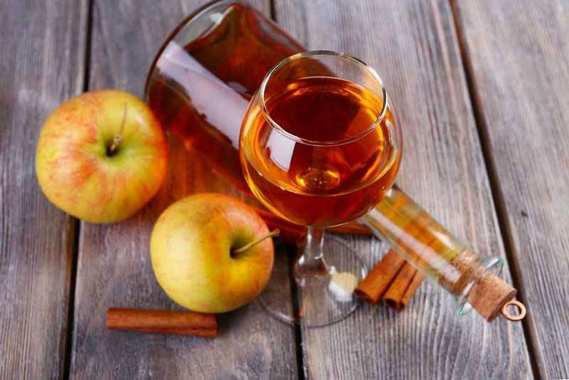 настойка яблок на коньяке