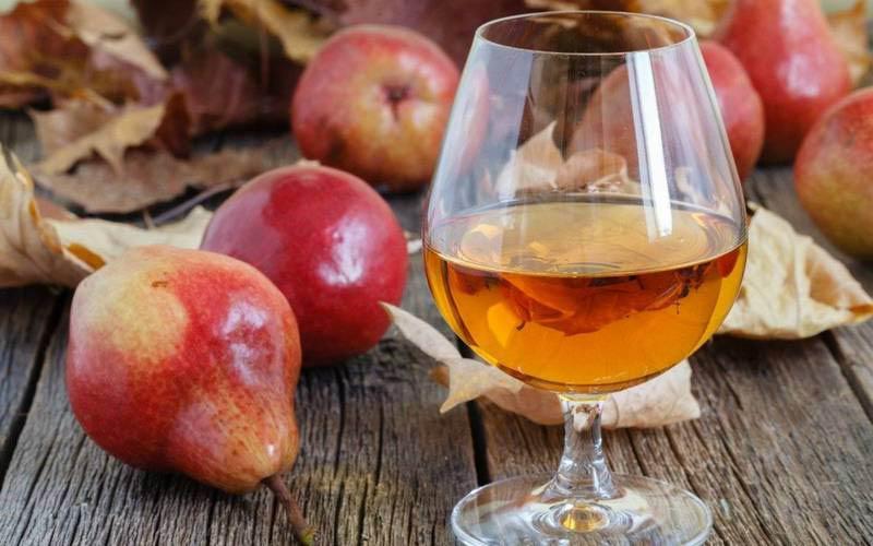 настойка из груш и яблок
