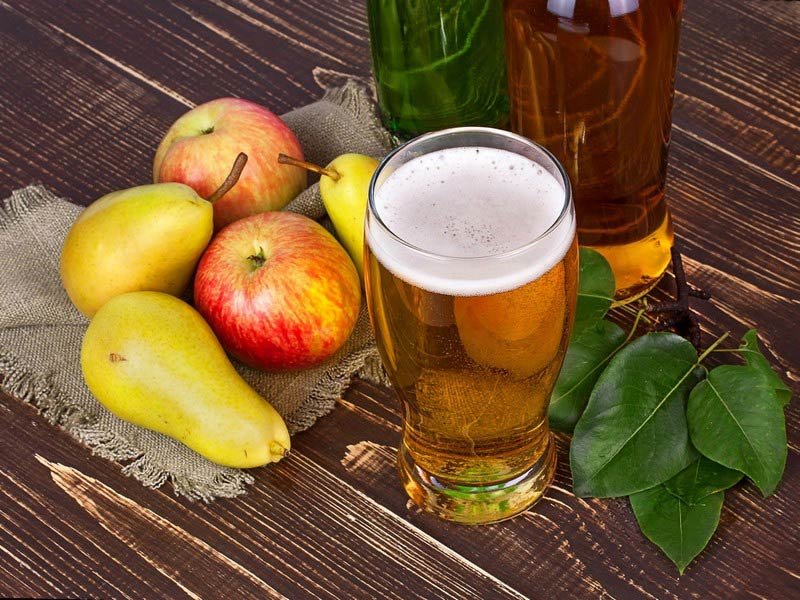 сидр из груш и яблок